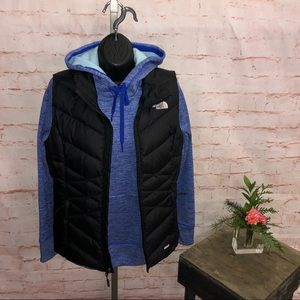 The north face puffer Vest 550 women's small